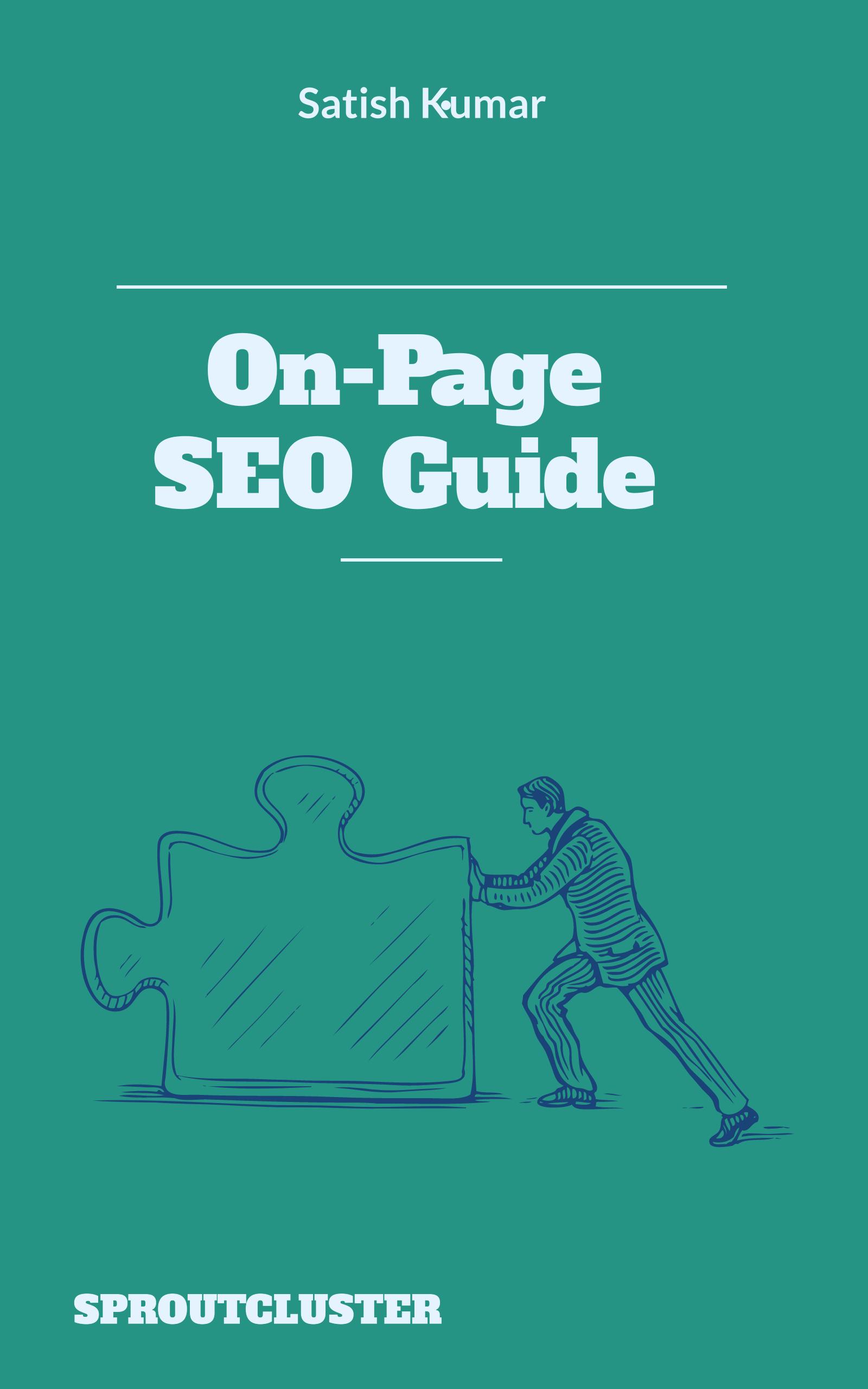 On-Page SEO Guide E-book