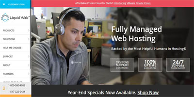 LiquidWeb WordPress Hosting