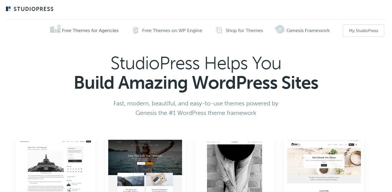 Wordpress Studiopress